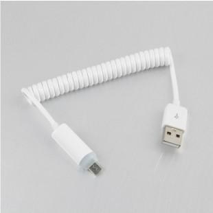 스프링 USB 충전케이블
